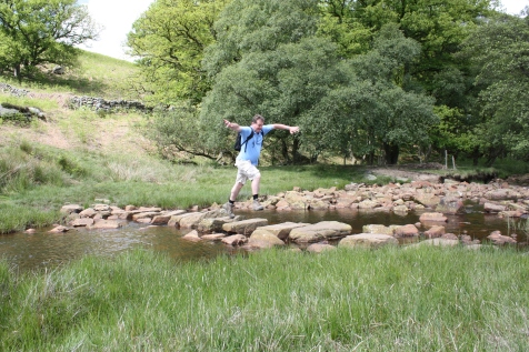 Crossing Wheeldale Beck